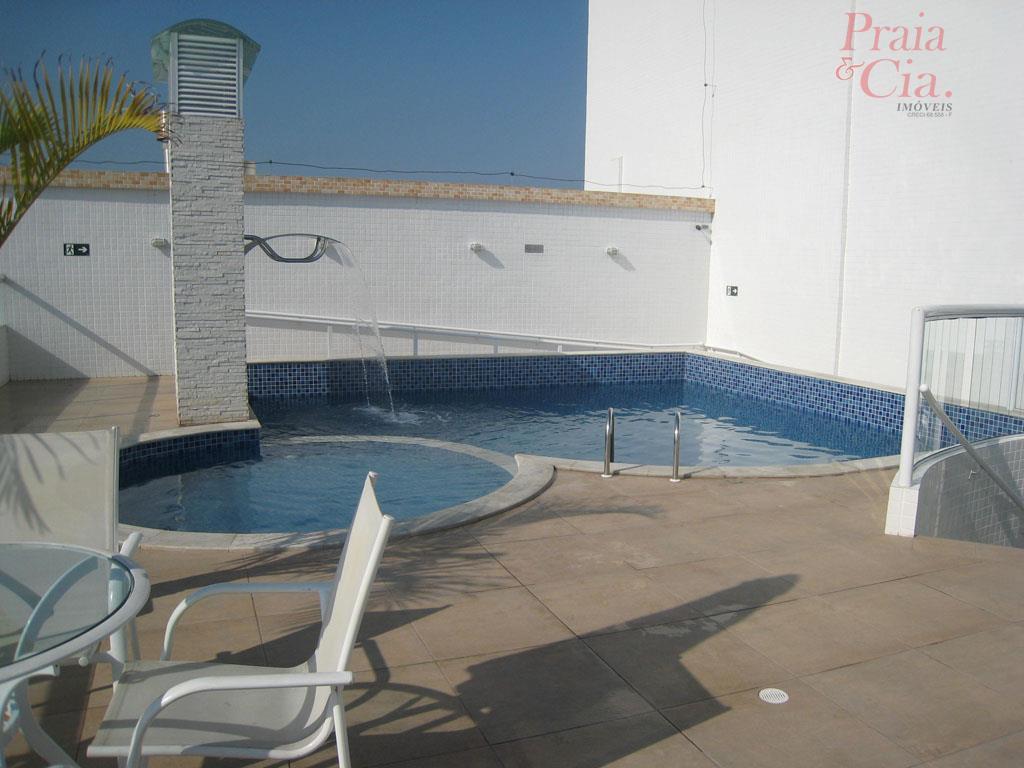 Apartamento residencial à venda, Vila Guilhermina, Praia Grande - AP0022.