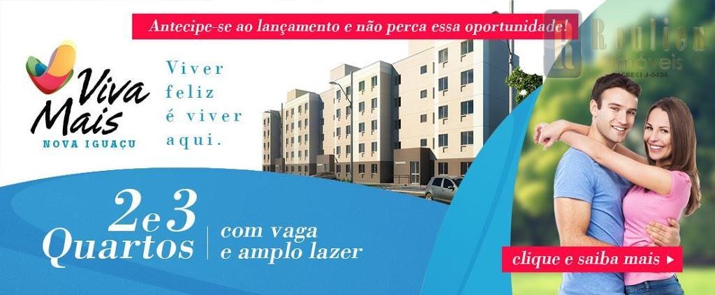 Apartamento residencial à venda, Adrianópolis, Nova Iguaçu.