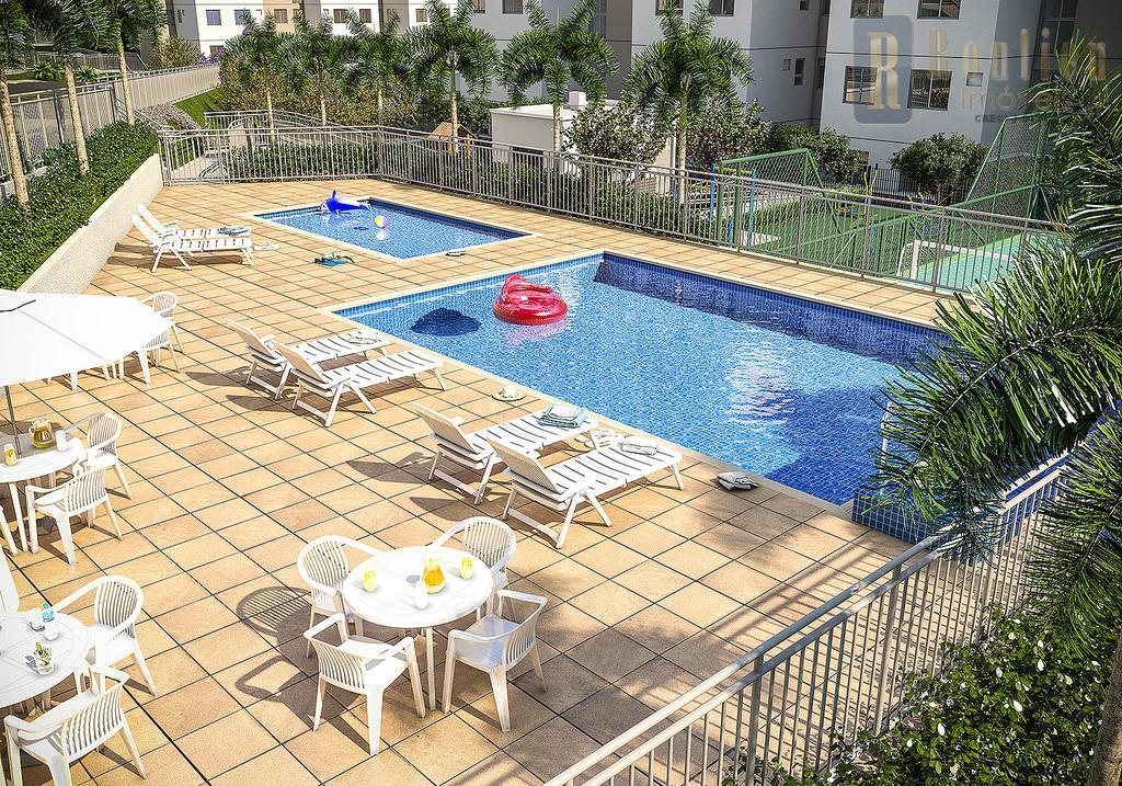 Apartamento residencial à venda, Imperador, Nova Iguaçu.