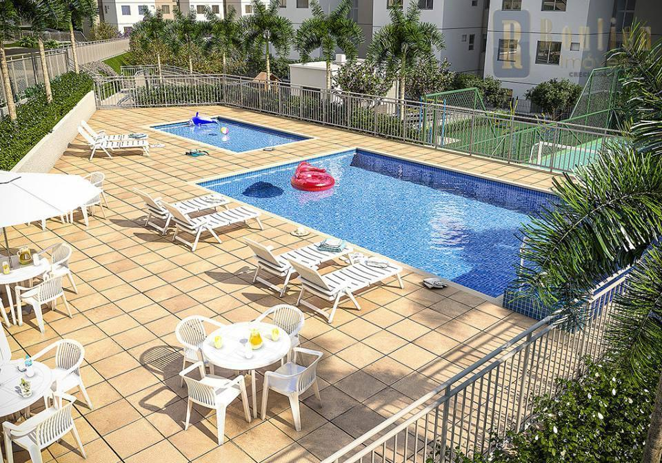 Apartamento residencial à venda, Posse, Nova Iguaçu.