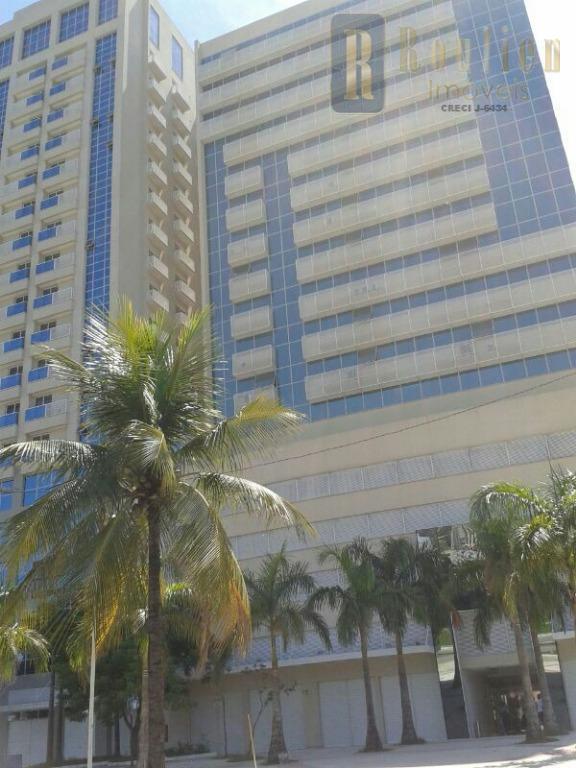 Flat residencial para venda e locação, Centro, Nova Iguaçu.