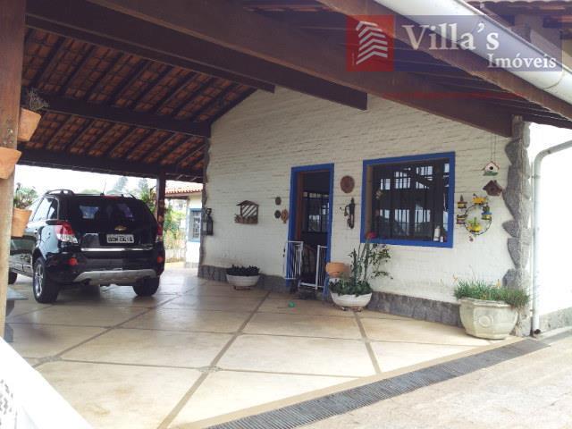 Casa residencial à venda, Condomínio Marambaia, Vinhedo - CA0006.