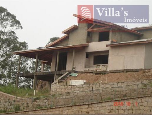 Casa Residencial à venda, Condomínio Vale Da Santa Fé, Vinhedo - CA0042.