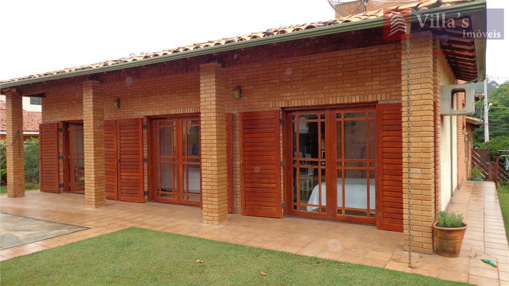 Casa residencial à venda, Condomínio Vista Alegre - Sede, Vinhedo - CA0044.