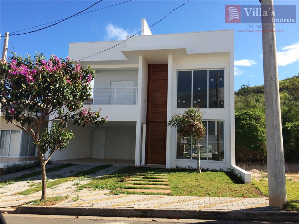 Casa residencial à venda, Condomínio Reserva da Mata, Vinhedo - CA0119.