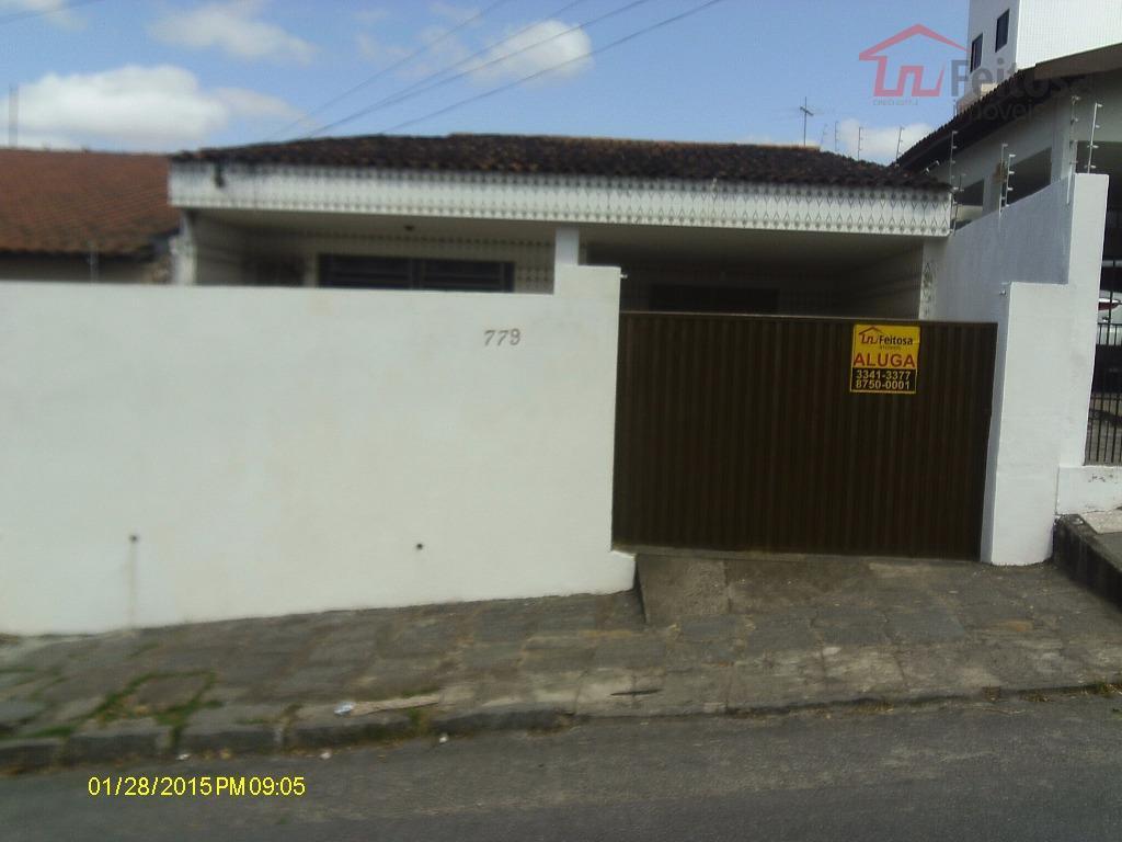 Casa residencial para locação, Alto Branco, Campina Grande.
