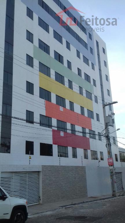 Apartamento residencial para locação, Jardim Paulistano, Campina Grande.