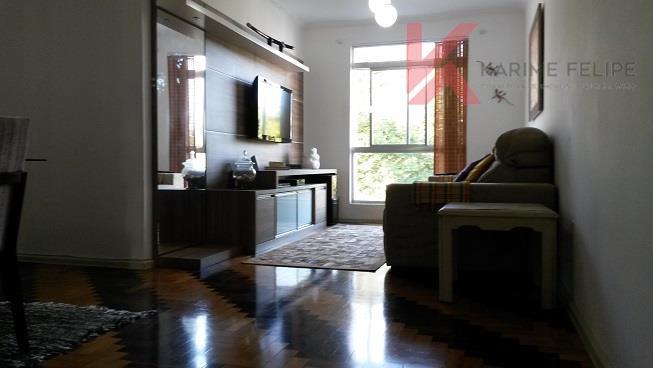Excelente apartamento com 3 dorms (suíte) + dep, empregada