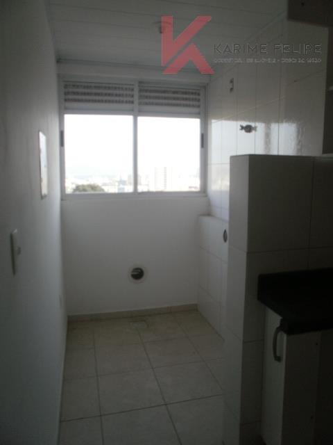 Excelente apartamento com 2 quartos e garagem no Roçado