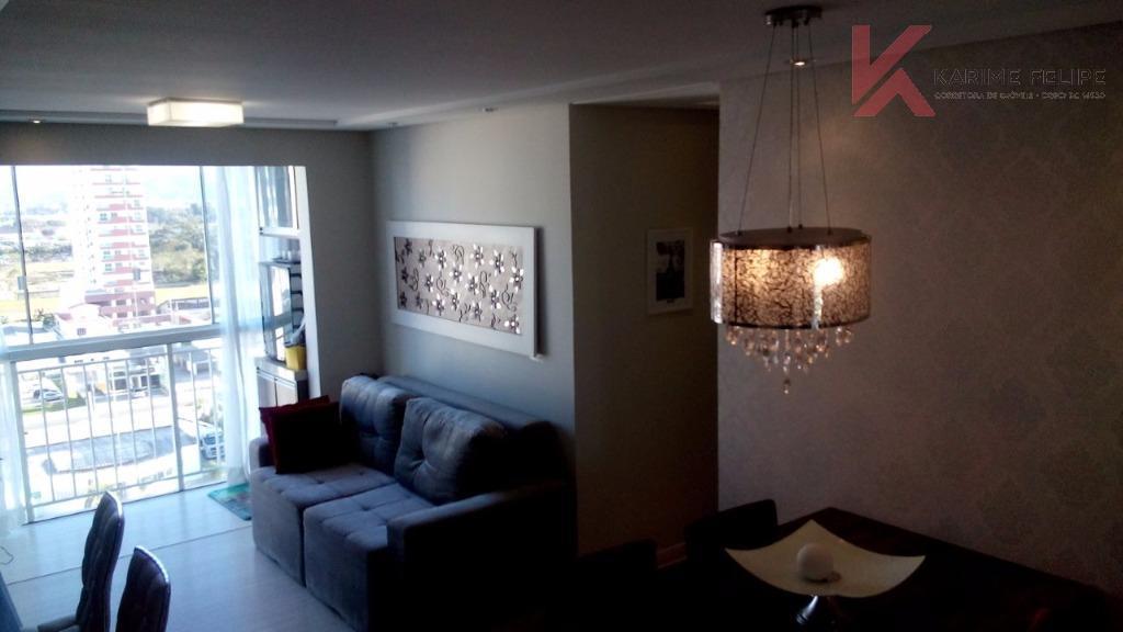 Apartamento 3 dormitórios (1 suite) Pagani - Palhoça/SC (AP0045)