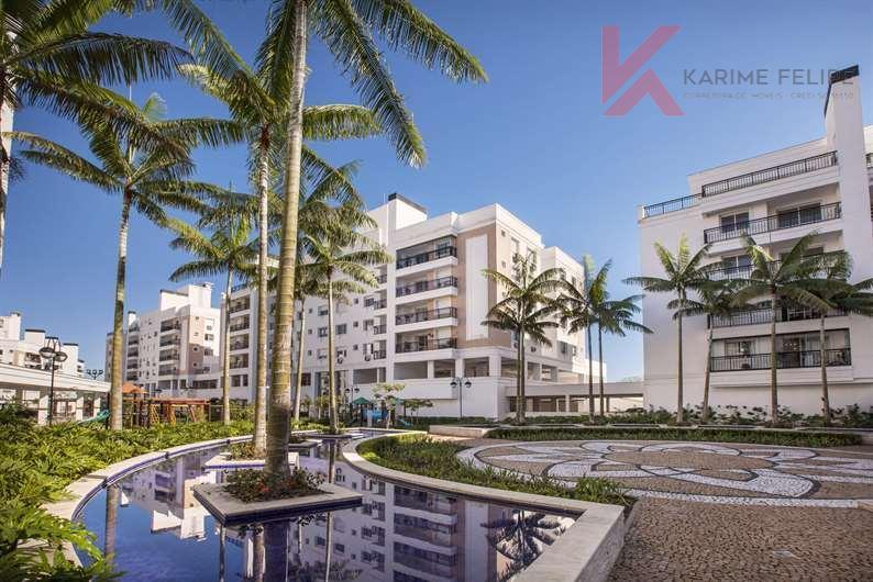 Apartamento 2 quartos (suíte), 1 vaga à venda, Abraão, Florianópolis.