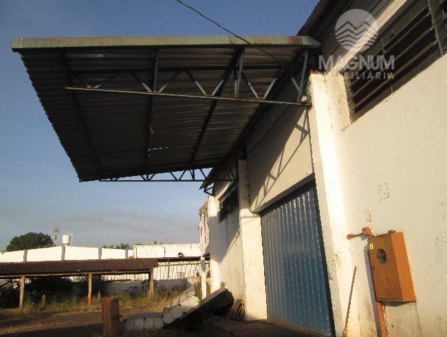 Salão comercial para locação, Distrito Industrial, São José do Rio Preto.