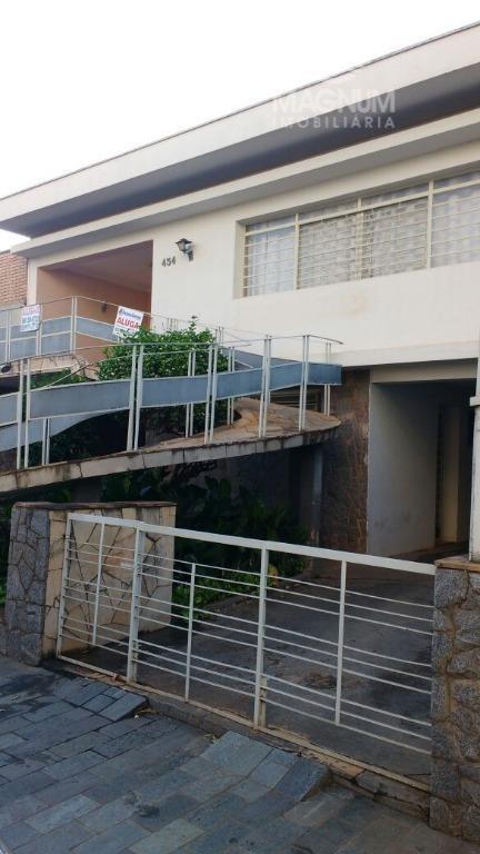 Casa comercial para locação, Redentora, São José do Rio Preto - CA0852.