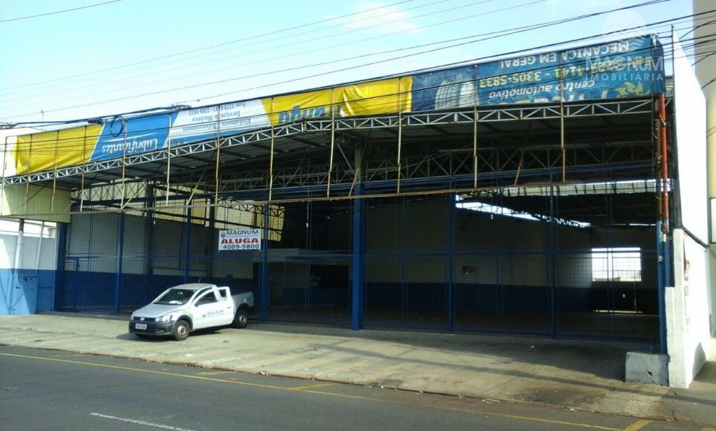 Salão comercial para locação, Vila São José, São José do Rio Preto.