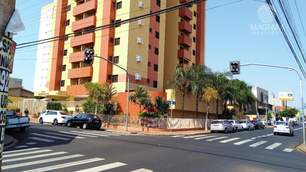 Apartamento residencial para locação, Vila Redentora, São José do Rio Preto.