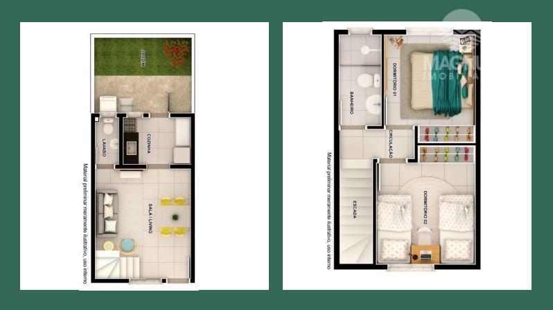 privilegio de poucos, casa em condomínio fechado com laser e segurança, a 300 m do centro...