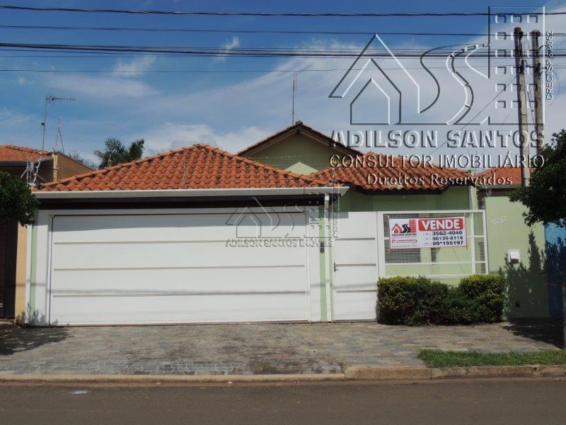 Casa residencial para venda e locação, Jardim Europa, Pirassununga.