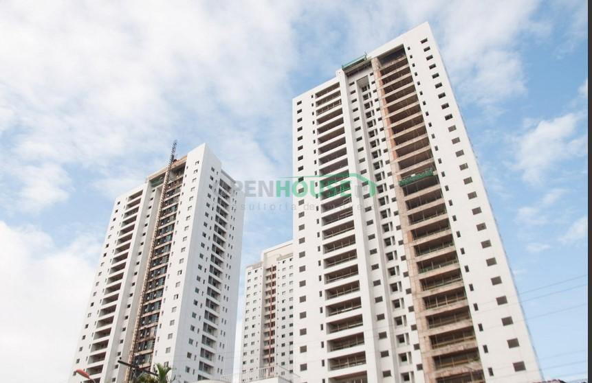 Apartamento com 4 dormitórios à venda, 141 m² por R$ 868.711 - Marco - Belém/PA