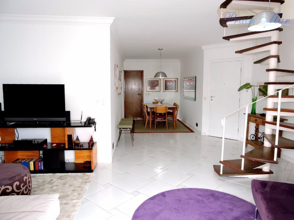 Apartamento  residencial à venda, Pitangueiras, Guarujá.
