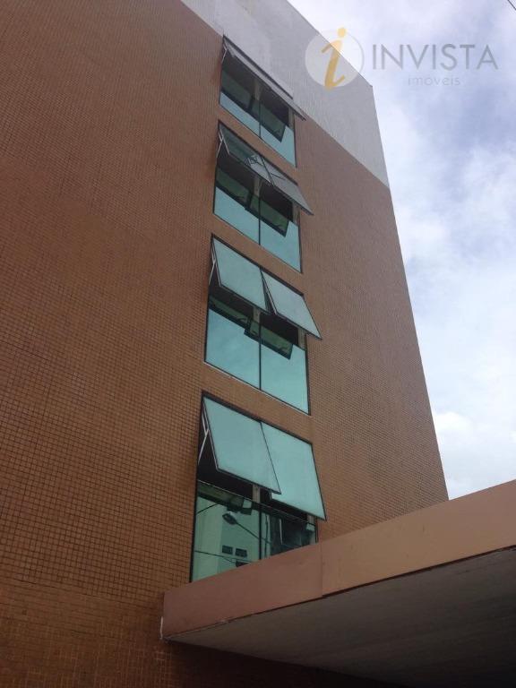 Flat residencial para locação, Cabo Branco, João Pessoa - FL0051.