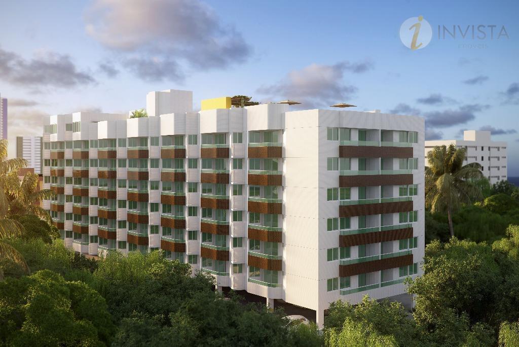 Apartamento residencial à venda, Bessa, João Pessoa - AP4589.