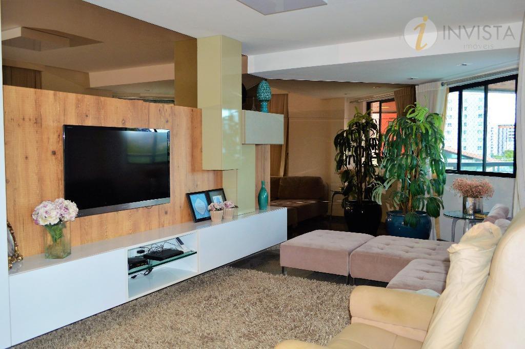 Apartamento residencial à venda, Manaíra, João Pessoa - AP4986.