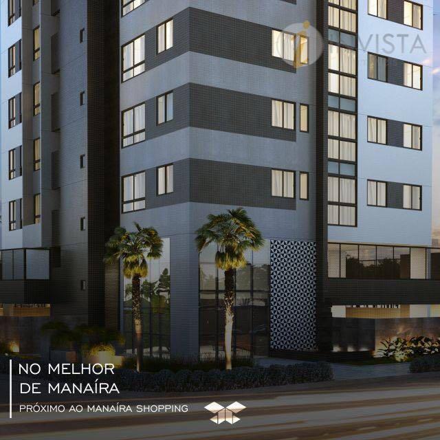 Apartamento residencial à venda, Manaíra, João Pessoa - AP5300.