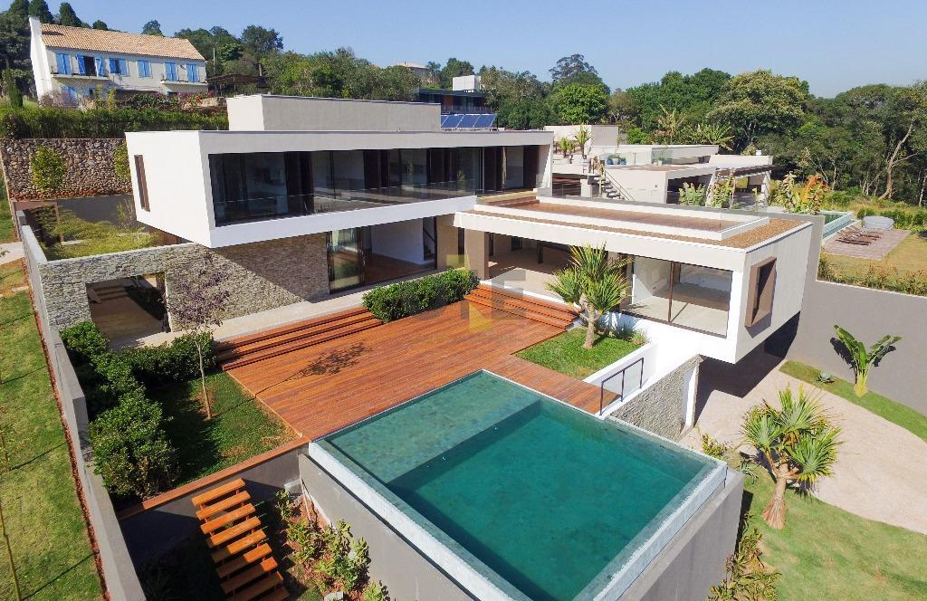 Casa Contemporânea à venda, São Fernando Golf Club, Cotia.