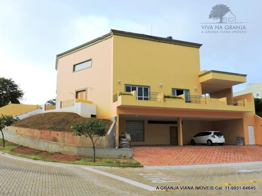 Casa residencial à venda, Reserva do Vianna, Granja Viana, Cotia - CA0008-AGV.