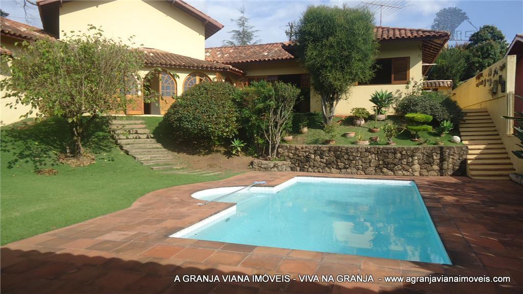 Casa residencial para venda e locação, Recanto Inpla, Granja Viana, Carapicuíba.