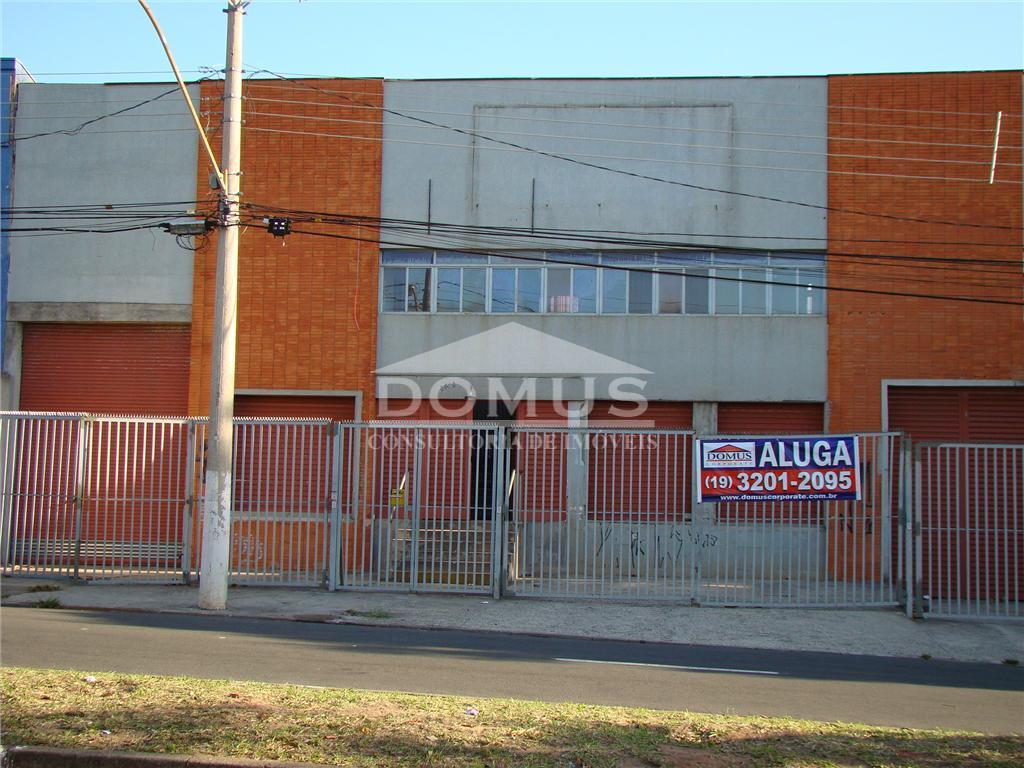 Barracão comercial para locação, Vila Rica, Campinas.