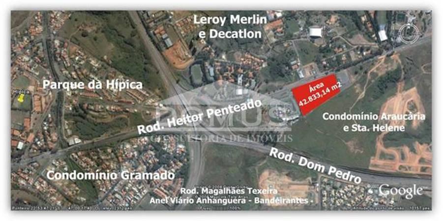 Área comercial para locação, Joaquim Egídio, Campinas.