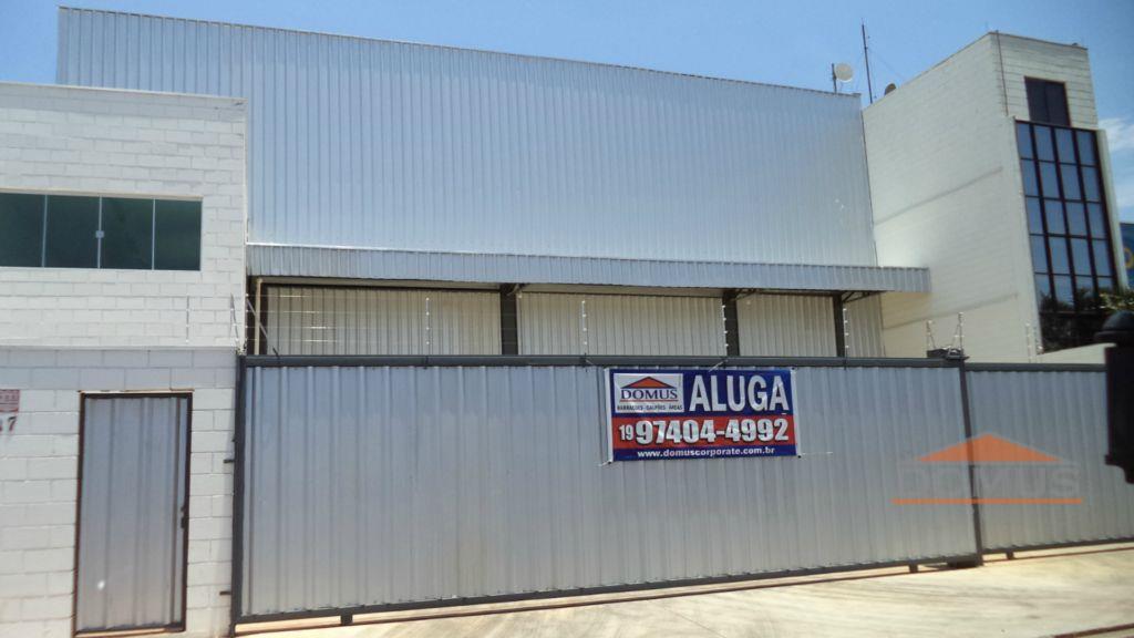 Galpão industrial para locação, Vila San Martin, Campinas.
