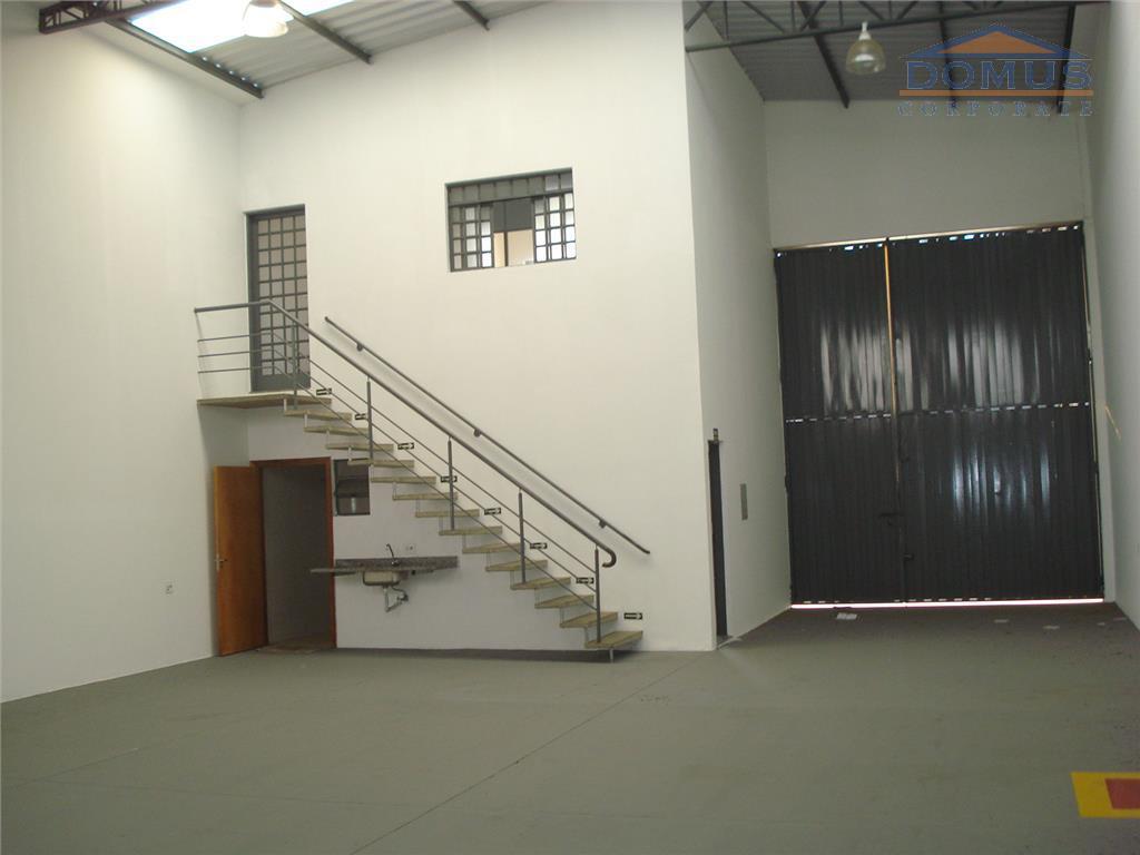 Barracão comercial para locação, Parque Via Norte, Campinas.