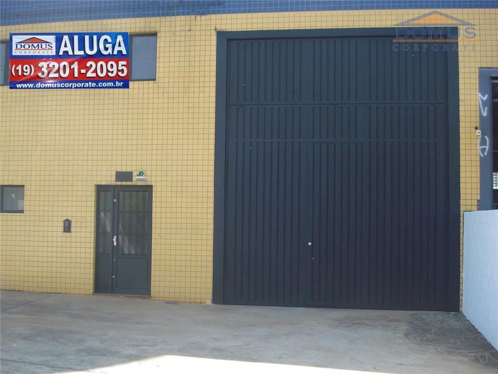 Galpão comercial para locação, Parque da Figueira, Campinas.