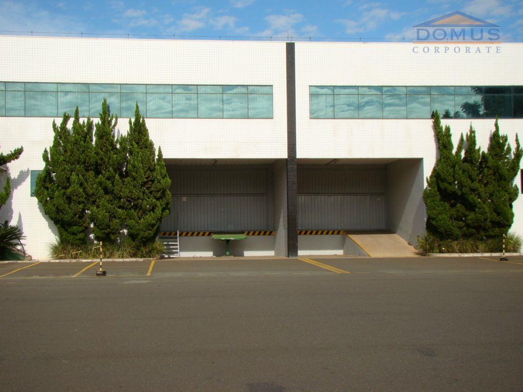 Galpão comercial para locação, Techno Park, Campinas.