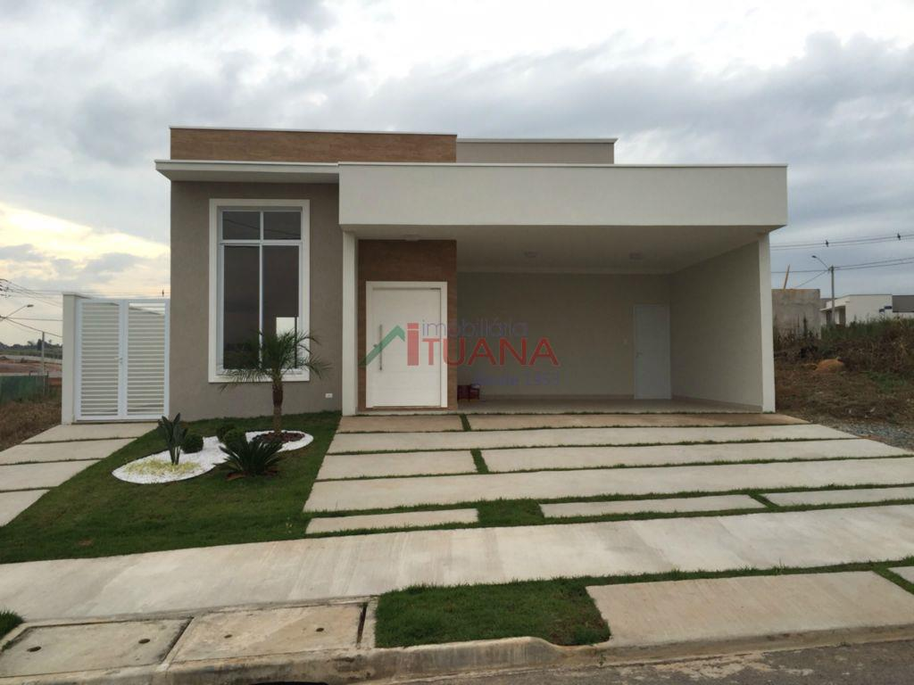 Casa residencial à venda, Condomínio Central Park, Salto - CA0730.