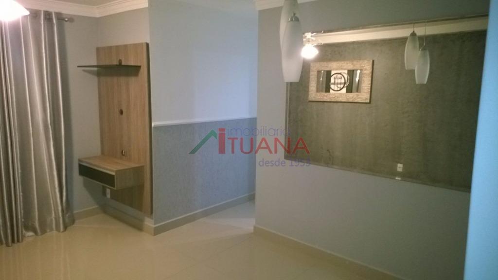 Apartamento residencial à venda, Residencial Parque da Fazenda, Campinas.