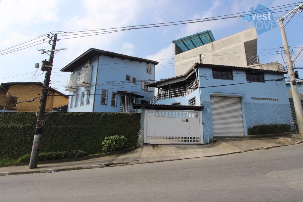 Sobrado residencial à venda, Centro, Ribeirão Pires.