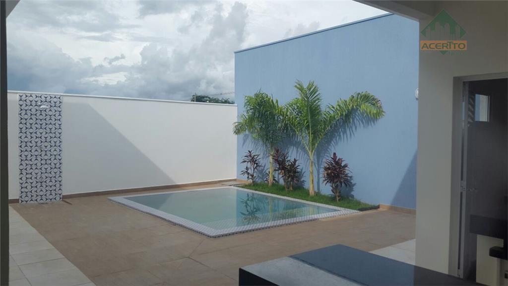 Casa  residencial à venda, Condomínio Mansour, Araçatuba.Novo