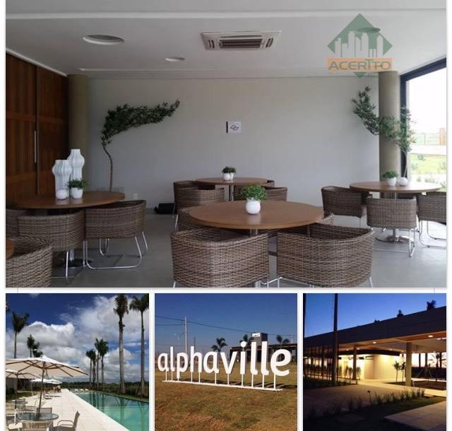 Terreno residencial à venda, condomínio alphaville, Araçatuba.