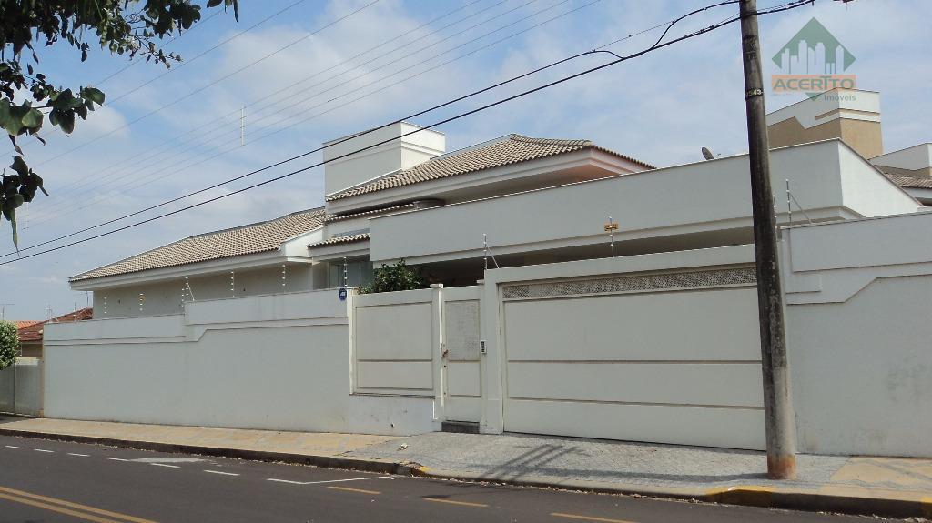 Casa  residencial para locação, Jardim do Prado, Araçatuba.