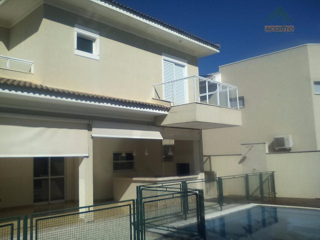 Sobrado residencial à venda, Condomínio Delta Park, Araçatuba - SO0082.