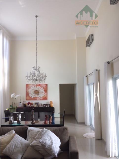 Casa residencial à venda, Condomínio Serra Dourada, Araçatuba.