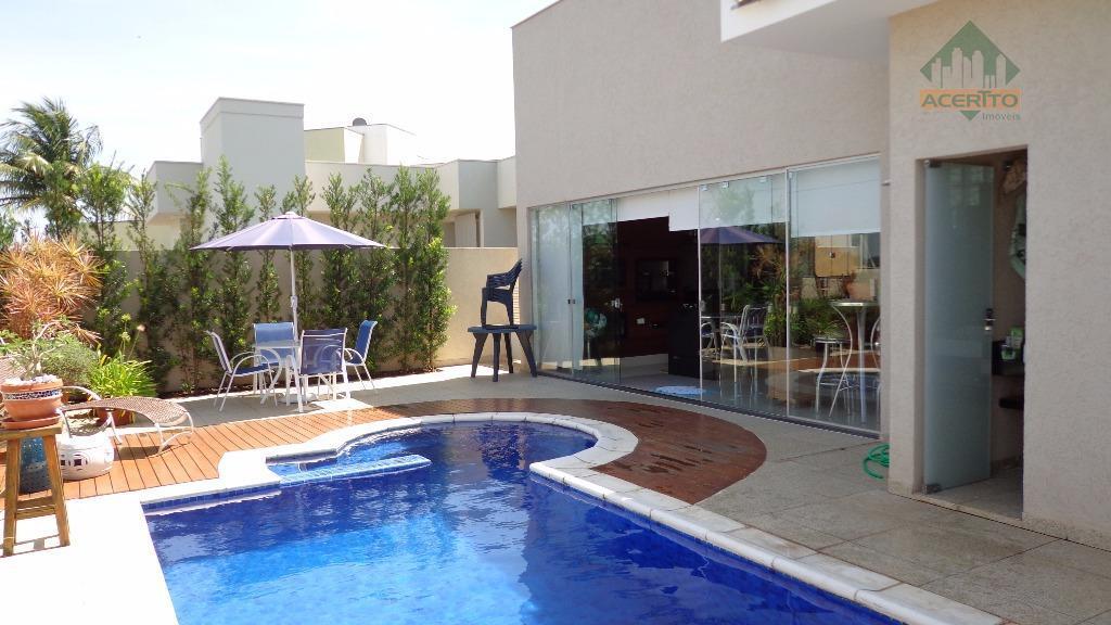 Casa residencial à venda, Condomínio Delta Park, Araçatuba.