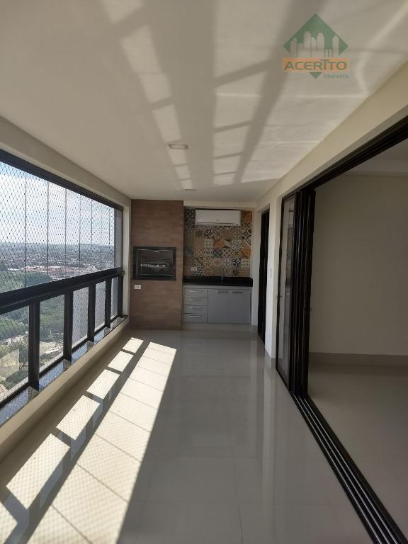 Apartamento residencial à venda, Ed. Diamante de Gould, Completo, Parque Baguaçu, Araçatuba.