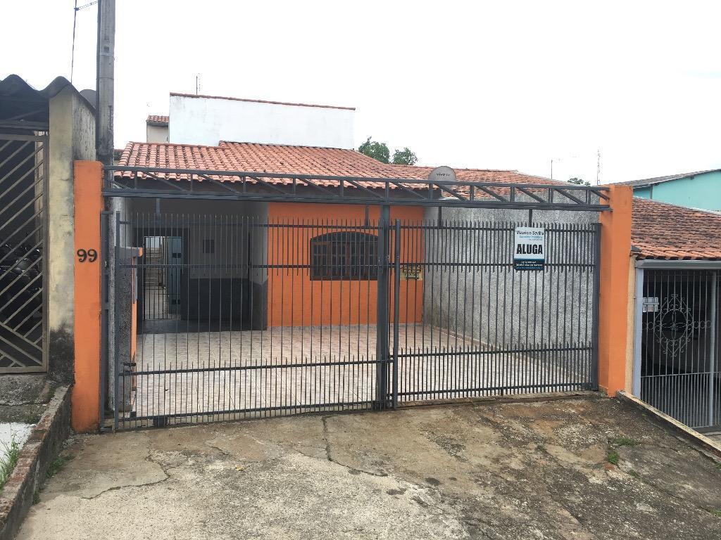 Casa com 3 dormitórios para alugar, 117 m² por R$ 900/mês - Jardim Los Angeles - Sorocaba/SP