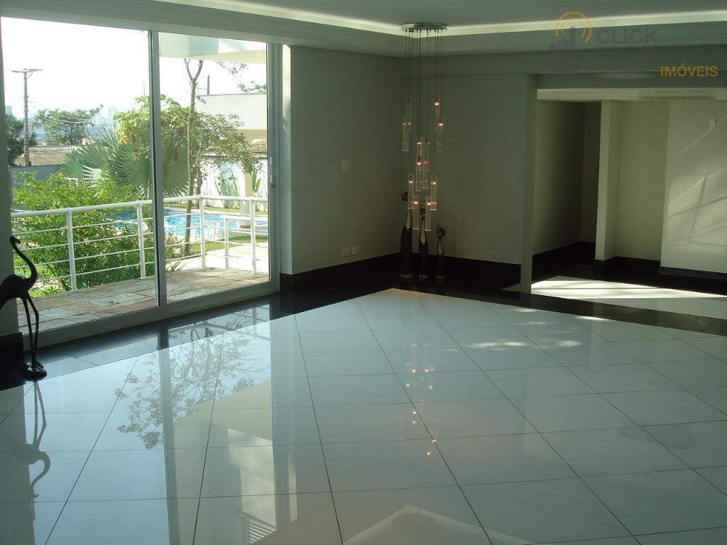 Sobrado 5 dormitórios sendo 2 Suites ( AMPLO TERRENO DE 2.200 m² ) à venda, 850,00 m² de construção por R$ 5.990.000 - Parque Anchieta - S. B.C./SP
