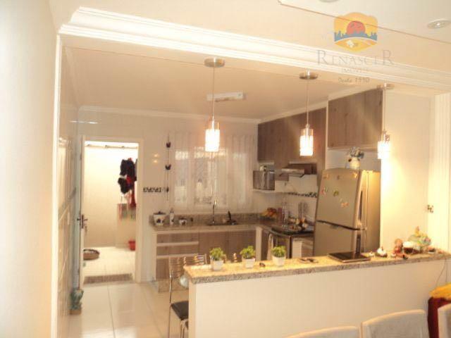 Sobrado amplo | 3 Dorms | 2 Wc's | Mobília Planejada | 5 Vagas – Jd. Nossa Sra. Do Carmo