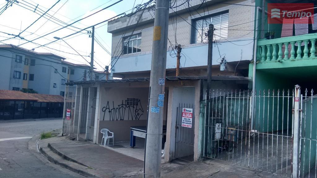 Casa residencial para locação, Parque São Vicente, Mauá.